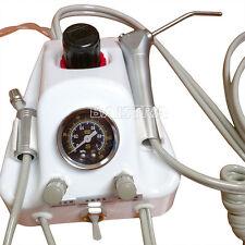 Portable Turbine Compressor High/Low Speed Dental air turbine Handpiece Tube 2H