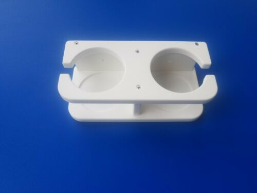 Cupholder Starboard ST Marine Boat 2 Cup Holder Wall Mount