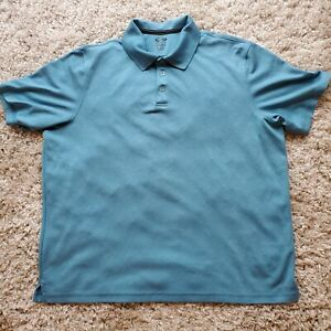 C9-Champion-Duo-Dry-Men-039-s-Polo-Shirt-Size-XXL-Light-Blue