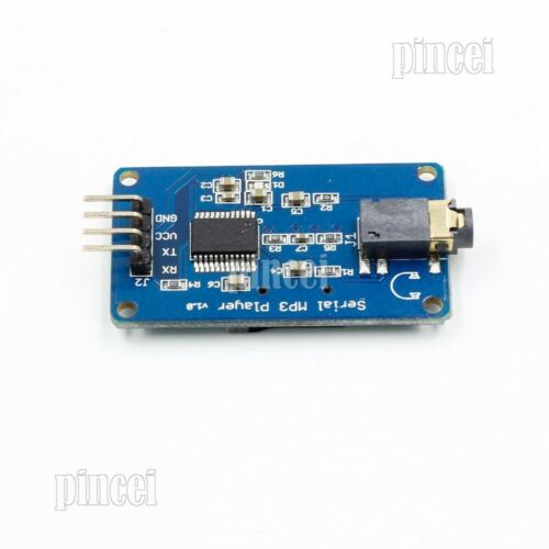 YX5300 MP3 Player Voice Serial Port Control Music Module TF Card Slot 3.2-5.2V