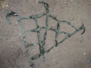 Vietnam NOS military US navy ship helicopter etc 12x12 Cargo net red and black b