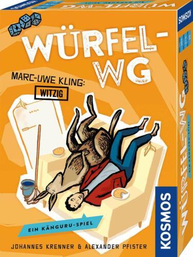 Kartenspiel Würfel-WG Ein Känguru-Spiel