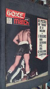 LA-BOXE-NEL-MONDO-SPORT-MATCH-N-22-1962-DE-PICCOLI-UN-BOOM-DI-31-MILIONI