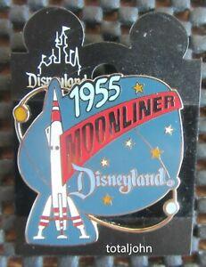 1998 DLR Attraction Ride Series Disneyland Moonliner Pin