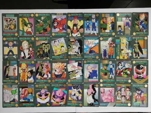 95Ex Bandai Japan DragonBall Visual Adventure Part 7 Regular Set