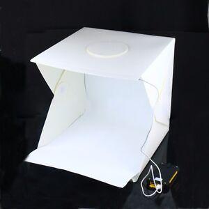 40cm-Light-Room-16-034-Photo-Studio-Photography-Lighting-Tent-Kit-Backdrop-Cube-Box