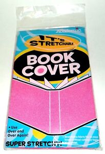 IT-039-S-ACADEMIC-One-Size-Fits-Most-Stretchable-Books-Cover-Reuse-amp-Washable-PINK