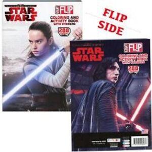 Star Wars the Last Jedi Coloring & Activity Sticker Flip ...