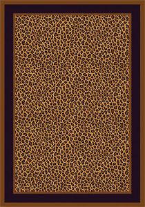 Milliken Zimbala Leopard Print Area Rug Living Room Dining