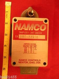 Namco-EA-060-22100-Snap-Lock-Limit-Switch-600V-EA06022100-New-Nos-Nnb