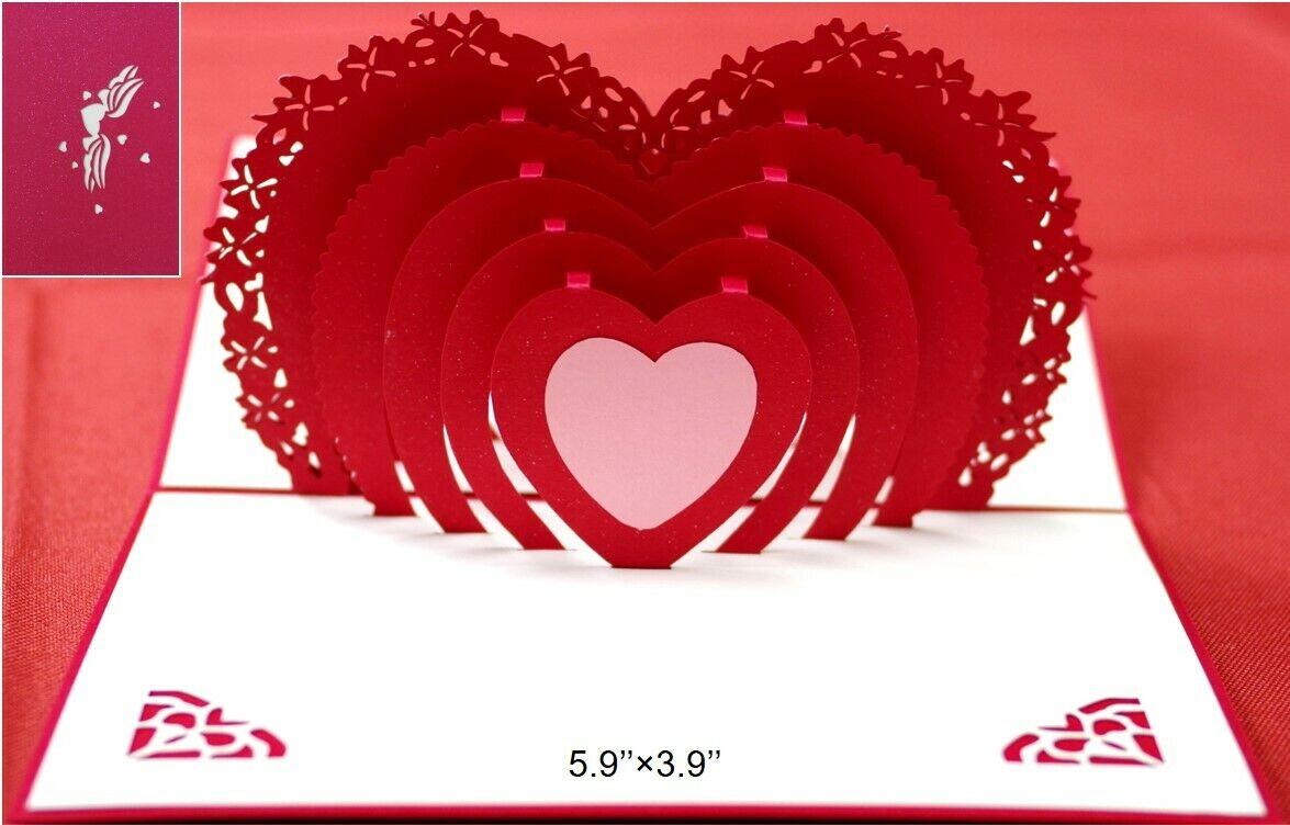 "Granddaughter Birthday Card Butterflies Brown Bear Flowers /& Hearts 9/"" x 6/"""