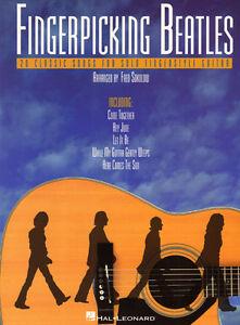 Fingerpicking-Guitar-The-Beatles-20-Classic-Songs-fuer-Gitarre-Noten-Tab