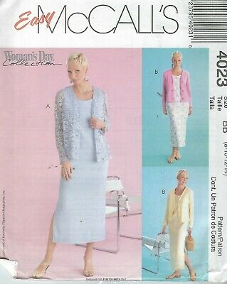 McCall/'s 4585 Misses/'//Miss Petite Dresses and Jumpers   Sewing Pattern
