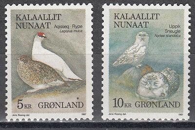 176-177** Vögel Gesundheit FöRdern Und Krankheiten Heilen Nett Grönland Kalaallit Nunaat Nr