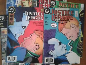 DC-COMICS-JUSTICE-LEAGUE-INTERNATIONAL-1988-VARIOUS-ISSUES