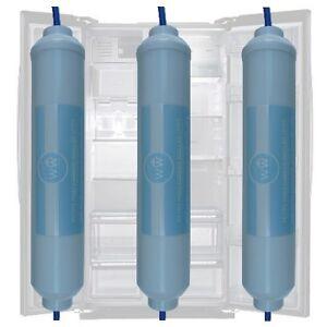 Diplomatique 3x Filtre à Eau Réfrigérateur Américain Daewoo Remplace Filtre Dd-7098 Pour Classer En Premier Parmi Les Produits Similaires
