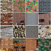 Brick Style Contact Paper Decorative Self Adhesive Peel Stick Wall Paper Decor
