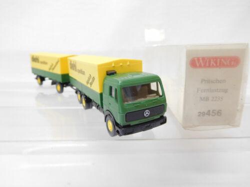 Eso-3298 1:87 Wiking mercedes camiones Diehl muy buen estado
