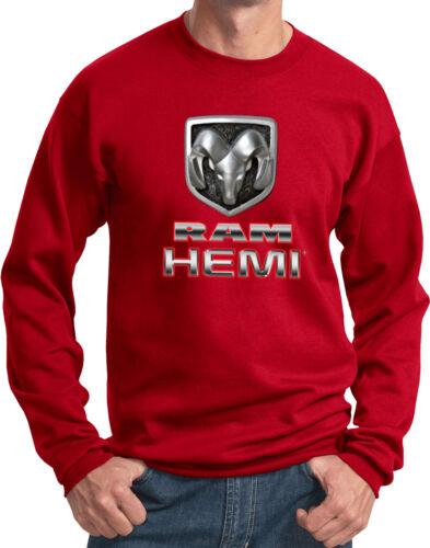 Mens Sweatshirt Dodge Ram Hemi Logo Shirt