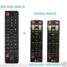 SOUND BAR Replace Remote AKB73575421 AKB73575401 for lg NB3520A NB2420A NB4530B