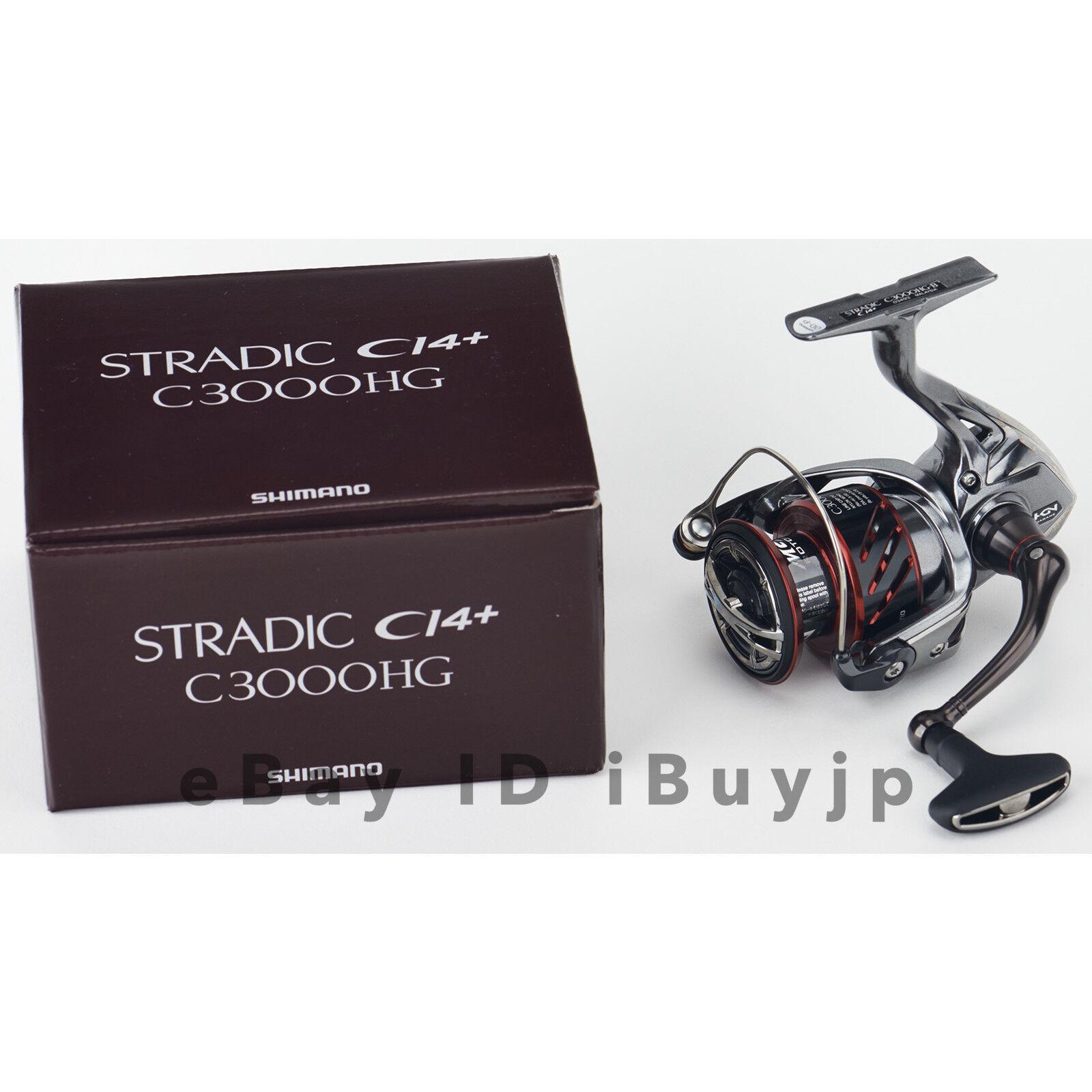 Shimano 16 FH CI4+ C3000HG Cocherete giratorio para Agua Salada 034939