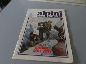 Alpino-Storia-Y-Leyenda-Fasciculo-10-1981-Rizzoli-Editorial-Excelente-Stato