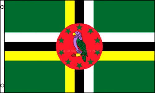 Dominica  International  3x5 Polyester Flag