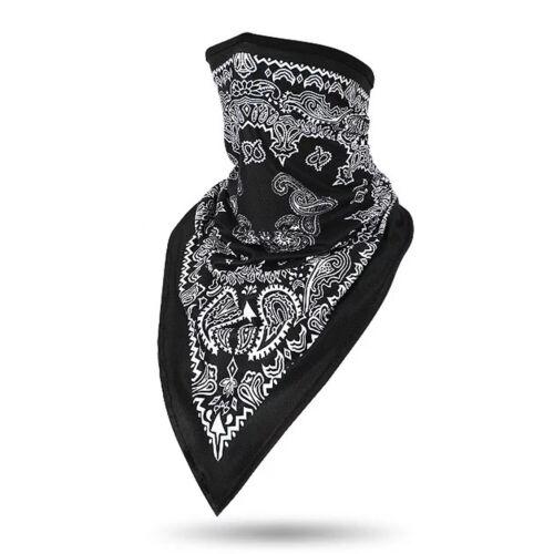 Neck Gaiter Tube Bandana Half Face Mask Cover Shield Headband Balaclava Scarf