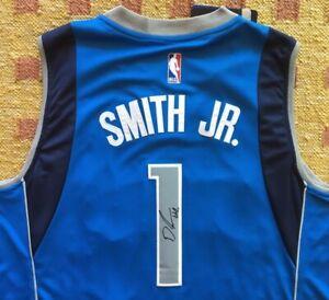 Details about Dennis Smith Jr. Signed Autograph Dallas Mavericks Jersey NBA NC State