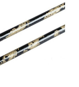 Youth Kids Dragon Rattan Escrima Sticks - Black - Pair