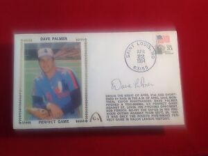 Dave Palmer signed 1984 Perfect Game Cachet PSA/DNA Cert# W40427