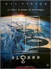 SIGNES PREVENTIVE Affiche Cinéma / Movie Poster MEL GIBSON 160x120