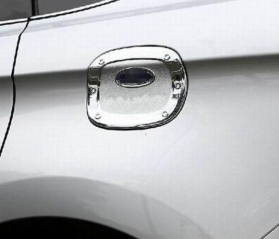 fit  ford edge   chrome fuel tank cover oil gas cap cover trim pc ebay