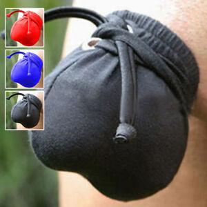 Men-039-s-Lycra-Tie-Up-Penis-Warmer-Pouch-Underwear-For-Him-Pants-Belt-Restraints