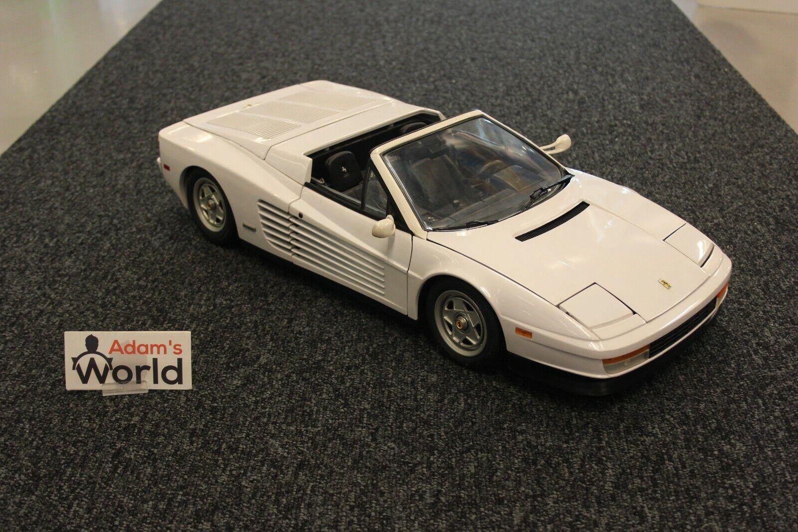 Pocher Built Ferrari Testa Rossa Spyder 1 8 white (KM)