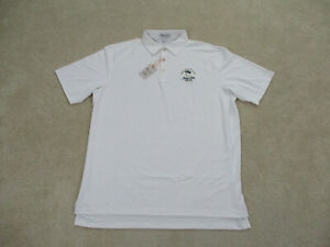 NEW-Peter-Millar-Polo-Shirt-Adult-Extra-Large-White-Summer-Comfort-Golf-Mens-A1