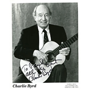 Charlie-Byrd-Autographed-Signed-8x10-Photo