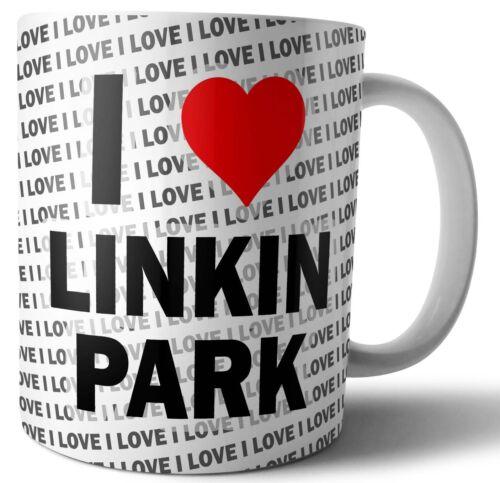 Weihnachten Becher I Love Linkin Park Tee Kaffee Tasse Geburtstag