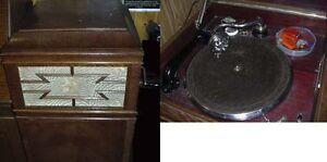 Musikinstrumente Grammophone Zusätzlich Elektrischer Tonabnehmer Schellackplatten Auf Der Ganzen Welt Verteilt Werden Originales Standgrammophon