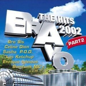 BRAVO-The-Hits-2002-part-2-Las-Ketchup-Celine-Dion-Laith-al-Deen-n-CD-DOPPIO