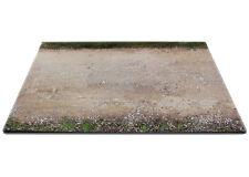 Diorama base route en terre / plinth dirt road - 1/24ème - #24-1-E-001