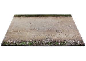 Diorama-base-route-en-terre-plinth-dirt-road-1-24eme-24-1-E-001