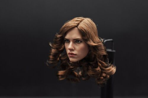 "1:6 ZC TOYS Scarlett Johansson Black Widow Head Sculpt  F 12/"" Female  Figure CN"