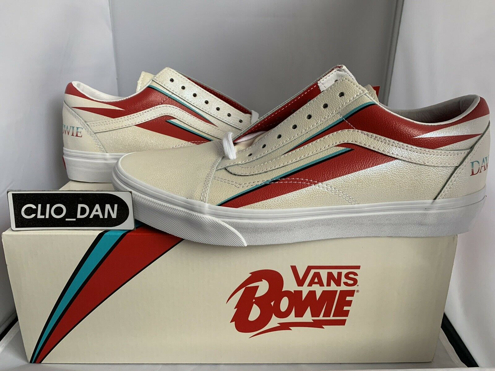 Vans x David Bowie Old Skool - Aladdin Sane UK11  US12 EU46