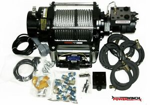 BEST-HYDRAULIC-WINCH-12-24V-15000-LBS-POWERWINCH-BRAND-COMPLETE-SET