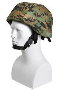 Airsoft Professioneller Verkauf Marines Woodland Digital Helmet Cover Pasgt Army Usmc Marpat Helm Bezug Usa