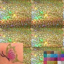 40 gramme PAILLETTE Doré Hologramme PEINTURE AUTO MOTO Nail Art MAISON Déco