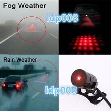 LED Laser Fog Light Rear Anti-Collision Brake Tail Warning Lamp skull Fit Ford Q