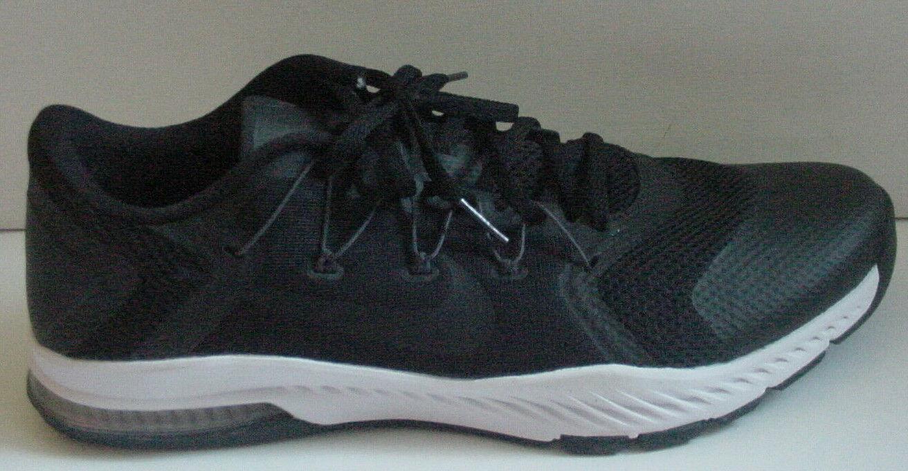 Nike HERREN Schuhe Schwarz Weiß Zoom Zug Komplett 882119-002 Sz 9 11.5 Nib Nolid