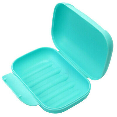 Home Bathroom Shower Travel Hiking Soap Box Dish Plate Holder Case Container EHE